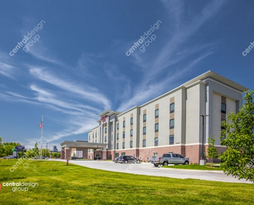 Hampton Inn Architectural Design