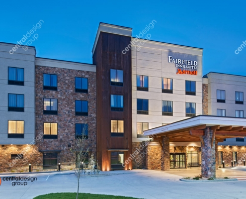 Fairfield Inn and Suites Hotel Architectural Design