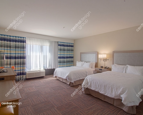 Hampton Inn Hotel Interior Design