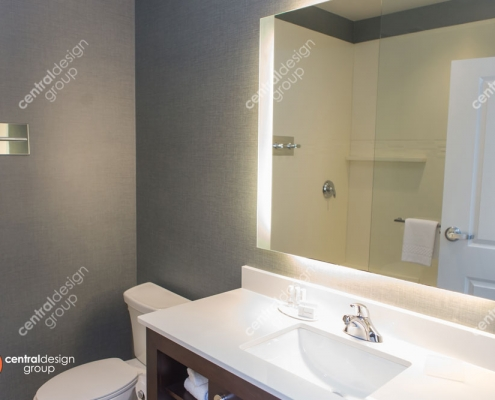 Dublin Guestroom Bath Interior Design
