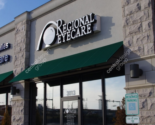 Regional Eye Care Commercial Design
