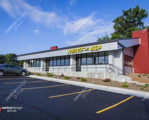 RentNGo Exterior Commercial Design