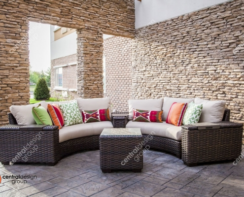 St. Peters Courtyard Patio Furniture