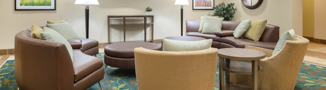 Hotel Interior Design with Nice Leather Couches